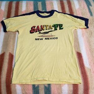 Vintage Santa Fe tshirt Womens L